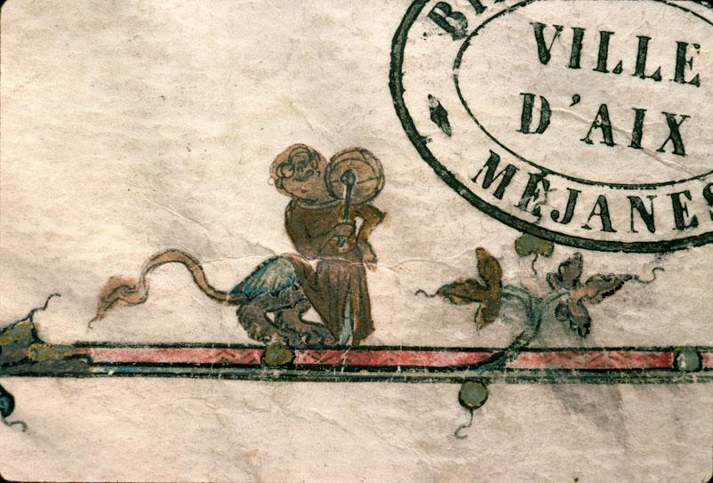 Pontifical de Guillaume Durand - Page décorée_0