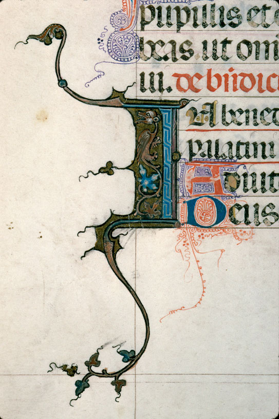 Pontifical de Guillaume Durand - Hybride zoomorphe_0