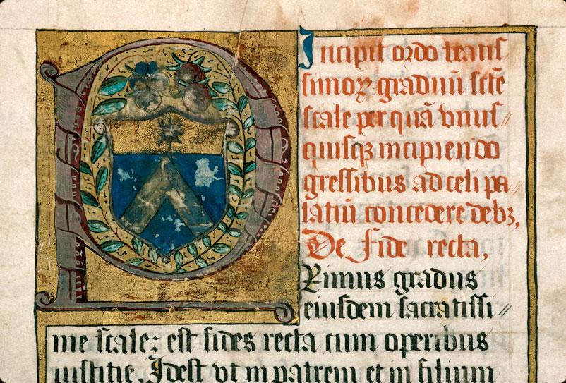 Gradus sacratissimae scalae - Armes d'Arbaud (à préciser)_0