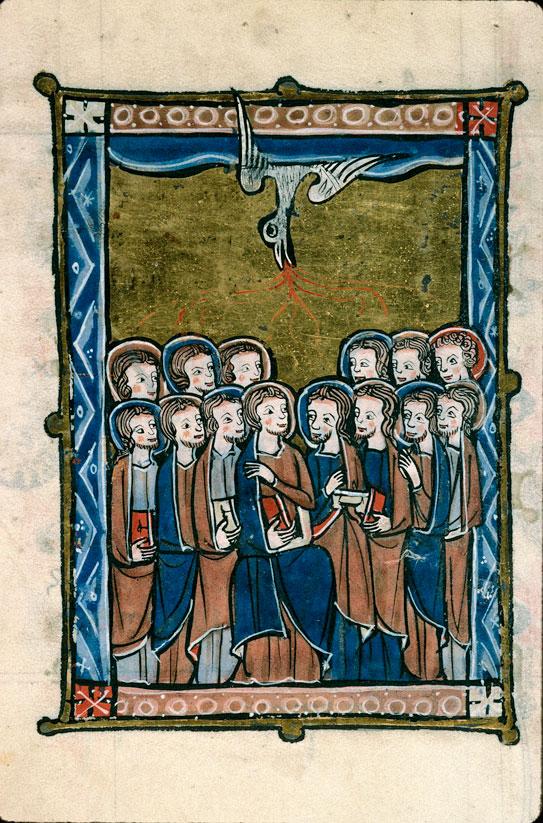 Psautier à l'usage d'Arras - Pentecôte_0