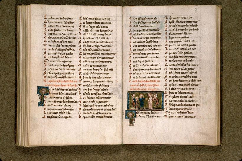 Vie de saint Jean l'évangéliste - _0