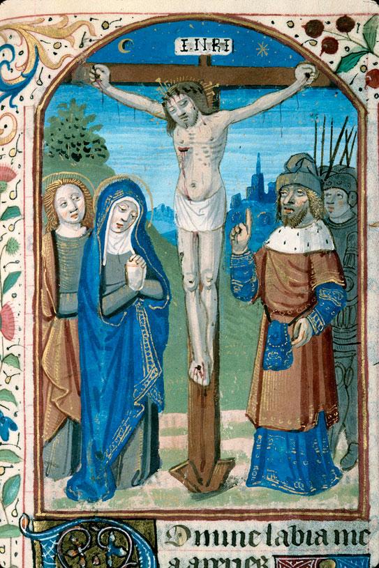 Heures à l'usage de Paris - Crucifixion_0