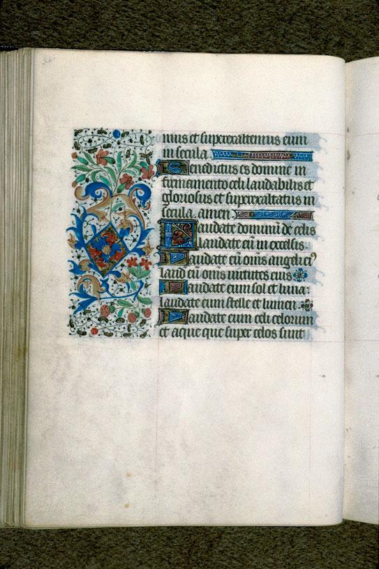 Heures à l'usage de Rouen - Page décorée_0