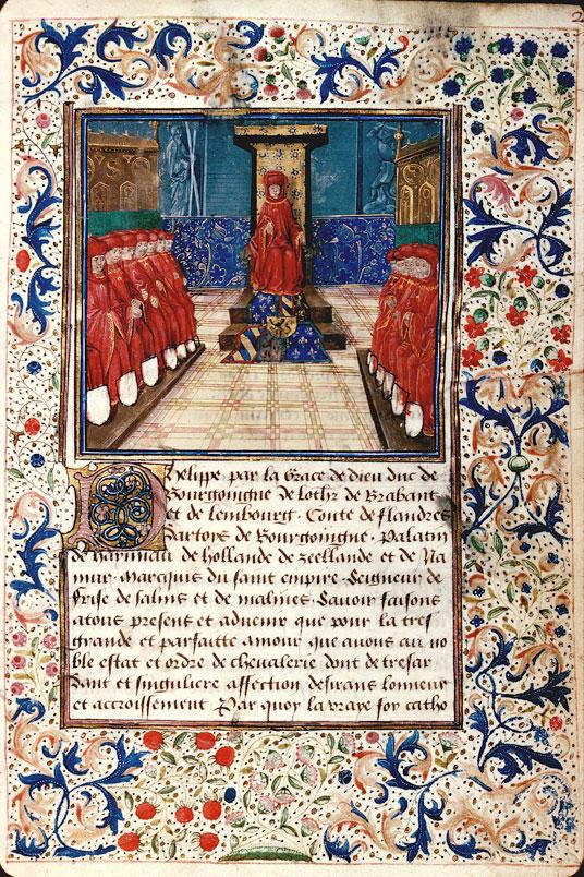 Statuts de l'ordre de la Toison d'or - Chapitre de l'ordre de la Toison d'or_0