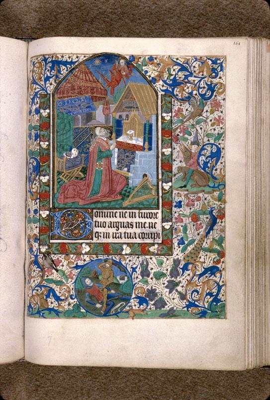 Heures à l'usage de Rouen - David et l'ange du châtiment_0