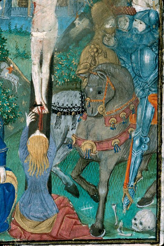 Heures à l'usage de Rouen - Crucifixion_0