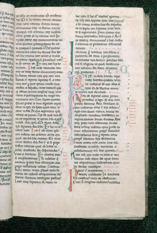 Concordia Evangelistarum (De) - Initiales filigranées_0