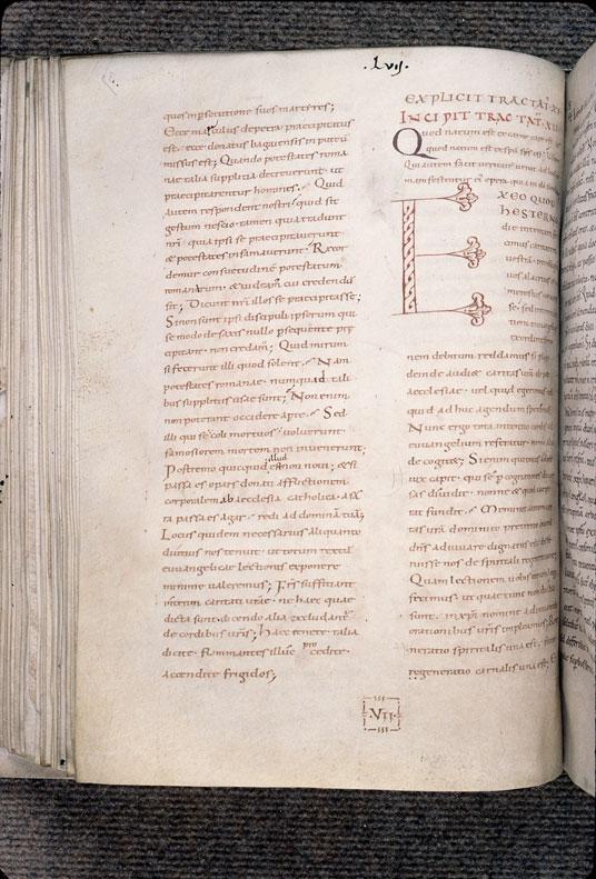 Tractatus in Evangelium Johannis - Initiale de couleur_0