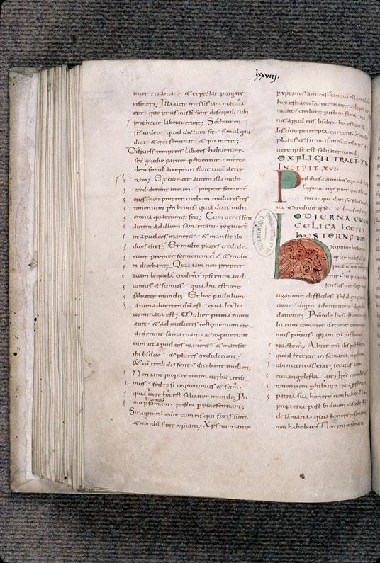 Tractatus in Evangelium Johannis - Initiales de couleur_0