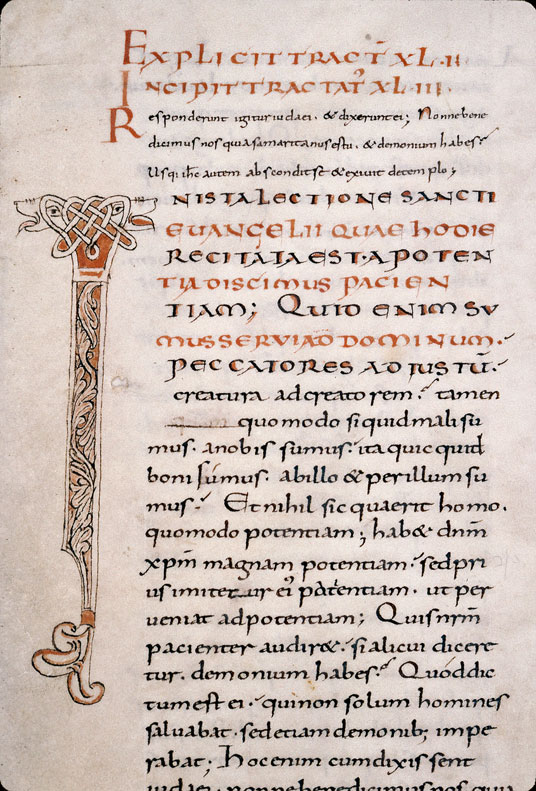 Tractatus in Evangelium Johannis - Initiale ornée_0