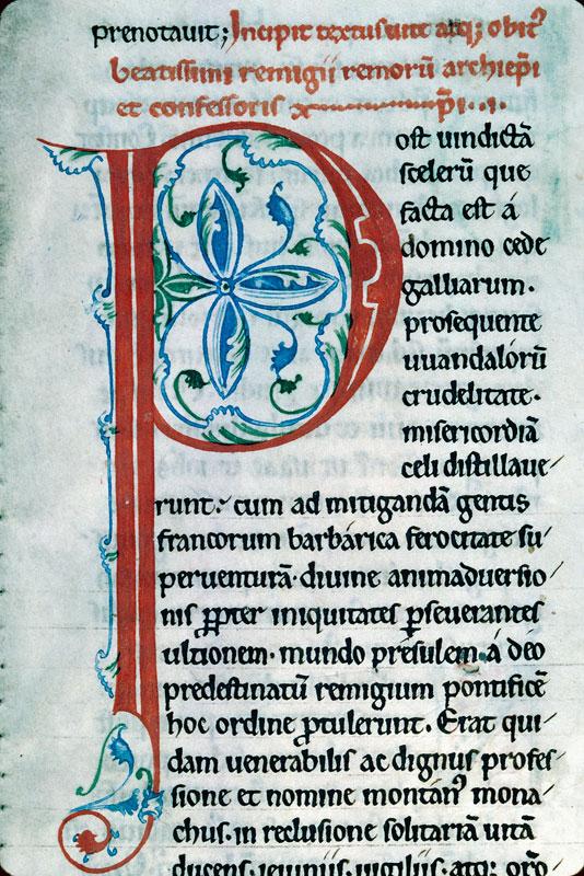 Légendier à l'usage de l'abbaye de Saint-Thierry près Reims