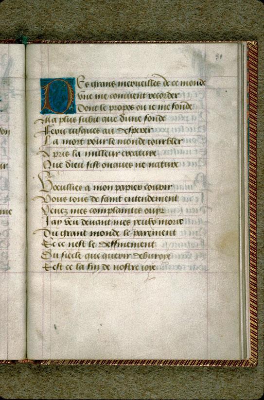 Complainte sur la mort de Marie de Bourgogne
