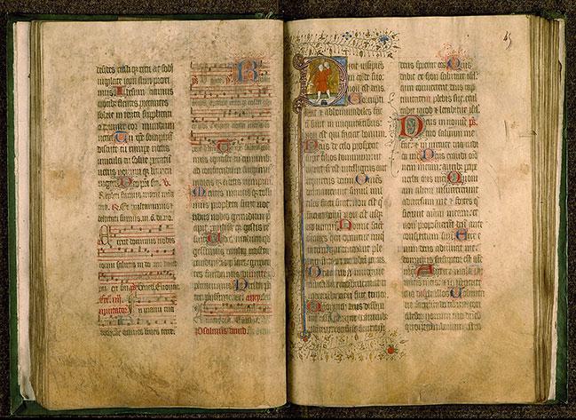 Psautier-hymnaire à l'usage du prieuré de Sainte-Barbe-en-Auge - Insensé (L')_0