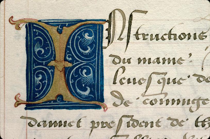 Chronique de Bretagne - Initiale ornée_0