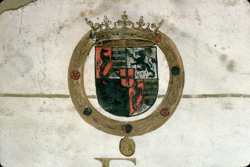 Permis donné 'al cavagliere di Redortier' d'armer contre les corsaires - Armes de la famille de Savoie (à préciser)_0