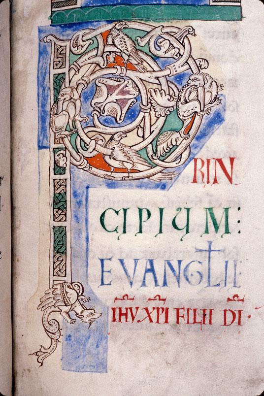 Evangiles de Matthieu et de Marc - Fauves et oiseaux_0