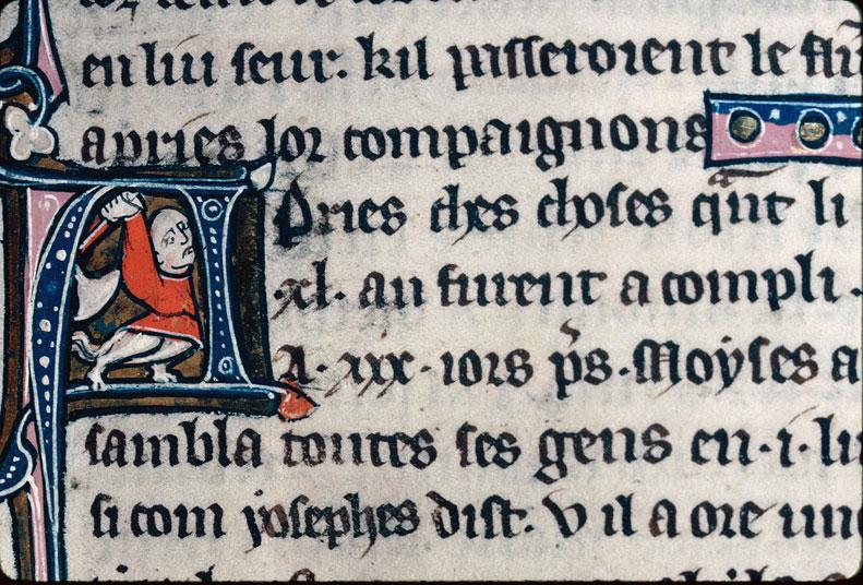 Chronique dite de Baudouin d'Avesnes - Hybride anthropomorphe armé_0