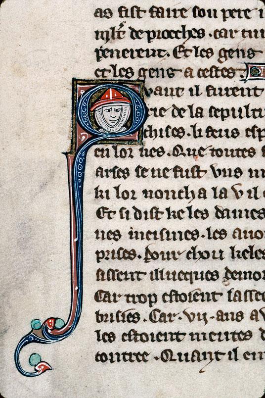 Chronique dite de Baudouin d'Avesnes - Tête de soldat_0