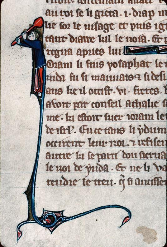 Chronique dite de Baudouin d'Avesnes - Homme tenant un objet (à préciser)_0