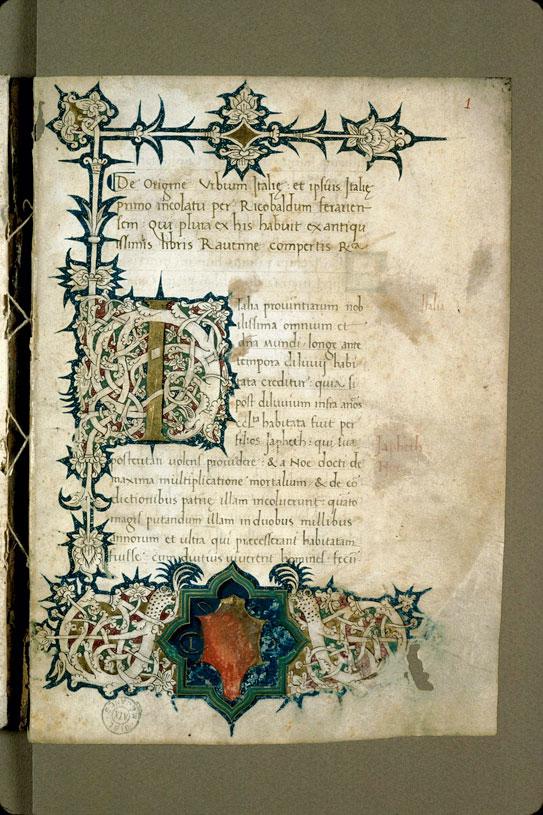 Origine urbium Italiae (De)