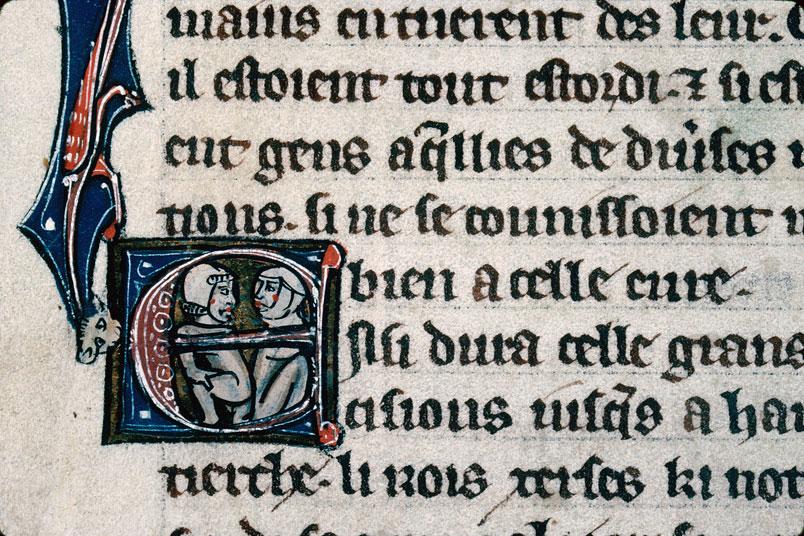 Chronique dite de Baudouin d'Avesnes - Couple_0