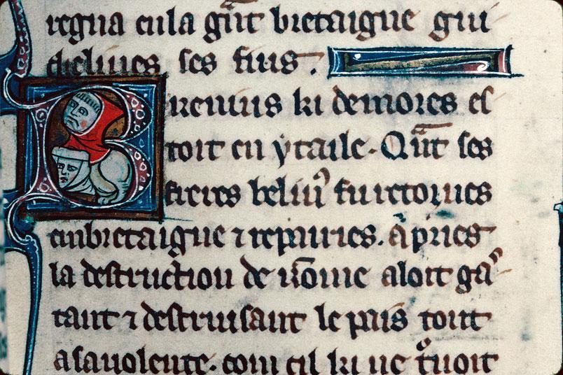 Chronique dite de Baudouin d'Avesnes - Hybride anthropomorphe_0