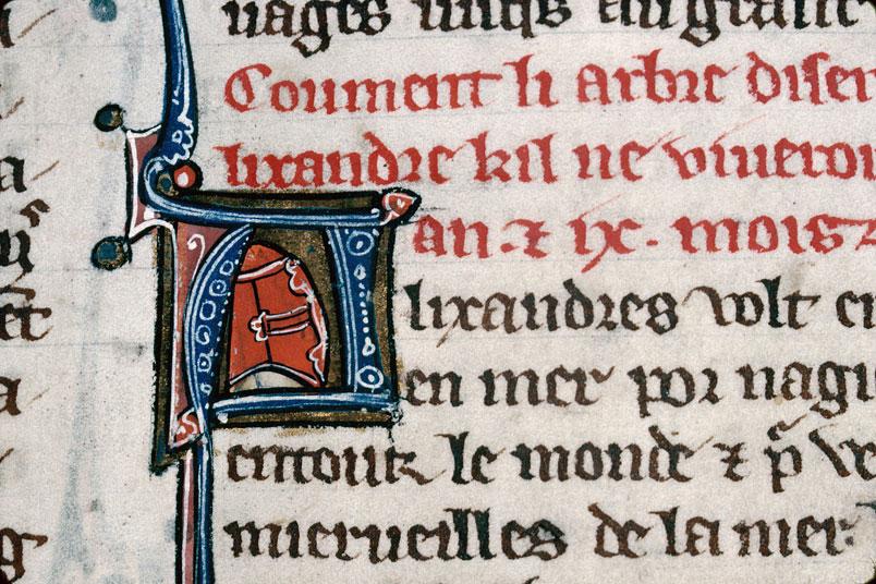 Chronique dite de Baudouin d'Avesnes - Tête d'homme casqué_0