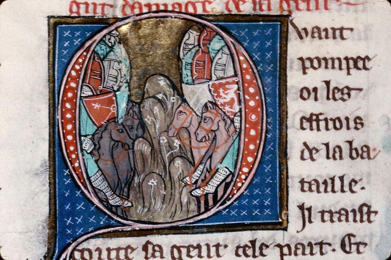 Chronique dite de Baudouin d'Avesnes - Bataille de Dyrrachium_0