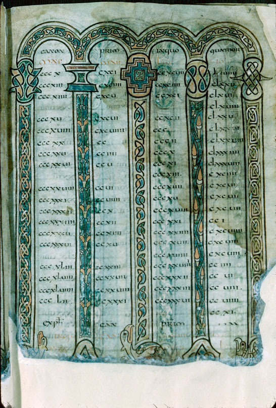 Evangiles à l'usage de l'abbaye Saint-Pierre de Flavigny