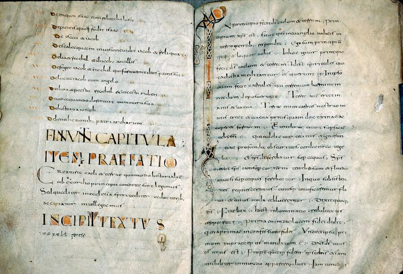 Quaestiones in Testamentum Vetus - Initiale ornée_0