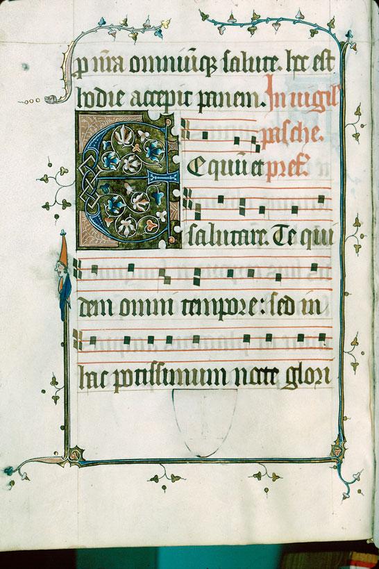 Sacramentaire - Page décorée_0