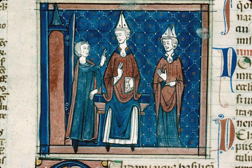 Decretum - Conflit entre le fondateur d'une église privée et son évêque_0