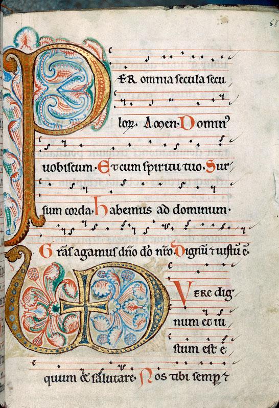 Missel à l'usage de l'abbaye Saint-Nicolas de Furnes