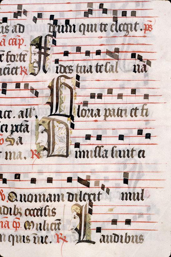 Antiphonaire à l'usage d'Autun