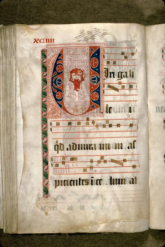 Graduel - Armes du chapitre cathédral d'Aix_0