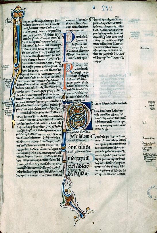 Bible glosée (partie de) - Hybrides zoomorphes_0