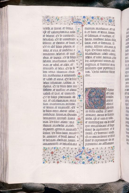 Bible (partie de) - Initiale ornée_0