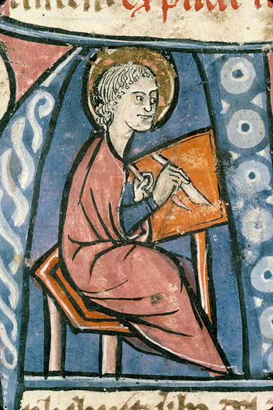 Bible - Saint Jean écrivant_0