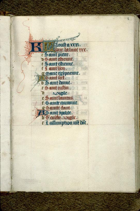 Heures - Initiales filigranées_0