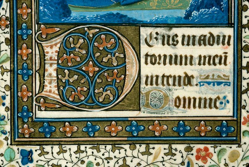 Heures - Page décorée_0