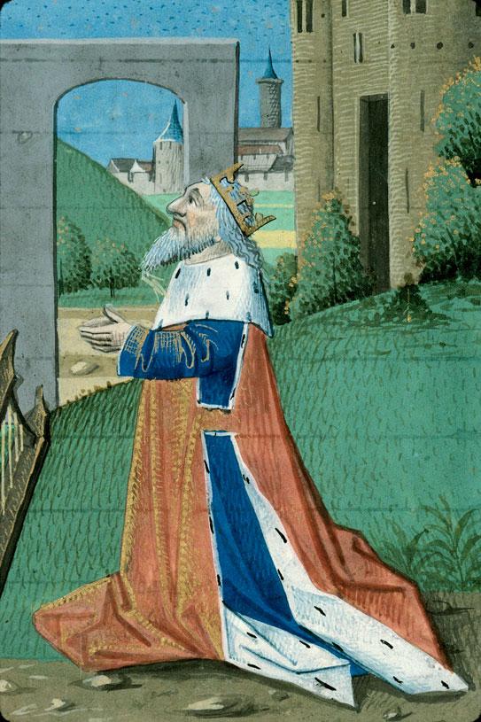 Heures - David et l'ange du châtiment_0