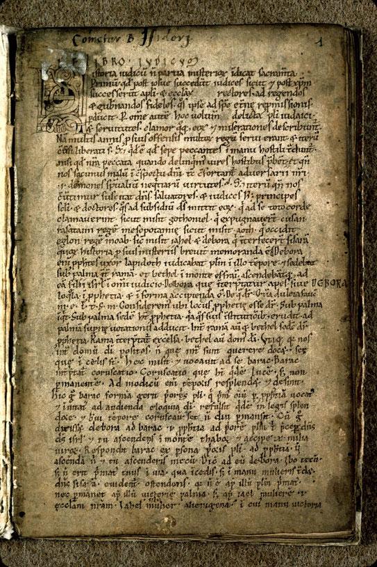 Comment. in Vetus Testamentum - Initiale ornée_0