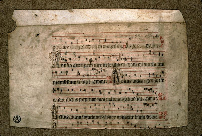 Antiphonaire (fragment) - Visages_0