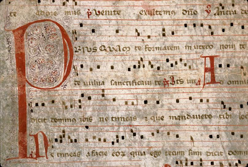Antiphonaire (fragment)