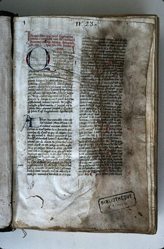 Supplementum Magistrutiae seu Pisanellae - Initiale partie_0