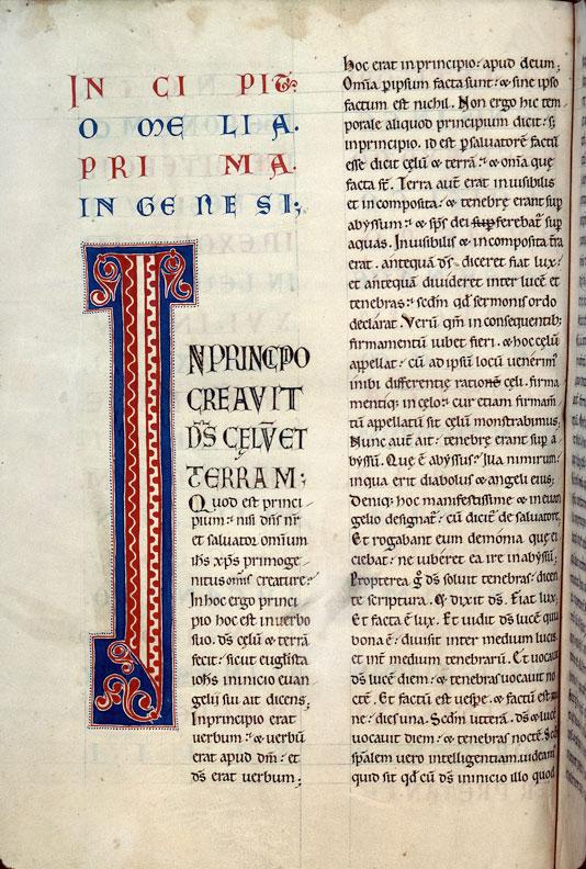 Homiliae in Testamentum Vetus - Initiale ornée_0
