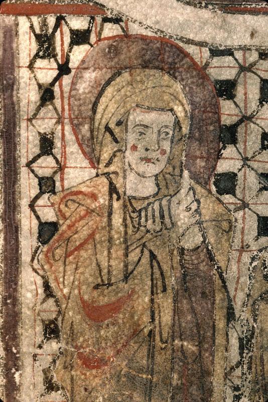 Sacramentaire à l'usage de Fréjus - Christ en croix entre Marie et Jean_0