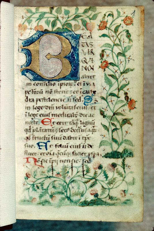 Diurnal cistercien - Page décorée_0