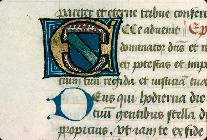 Missel - Armes de Louise de Marmont, épouse de Philibert Andrevet de Corsant_0