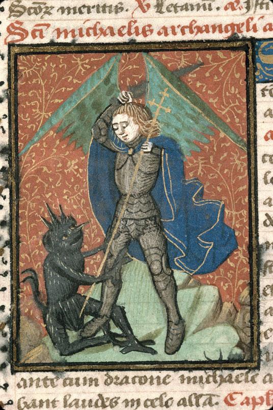 Diurnal à l'usage d'Arras - Saint Michel terrassant le diable_0